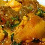 Ogbono Richly Stocked(Slimy Soup)